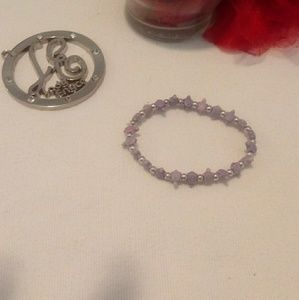 Jewelry - Purple and Silver Bracelet for All